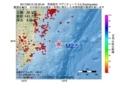 地震震源マップ:2017年06月12日 23時30分 茨城県沖 M2.5