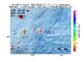 地震震源マップ:2017年06月13日 14時32分 奄美大島近海 M3.1