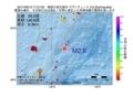 地震震源マップ:2017年06月13日 17時27分 奄美大島北東沖 M2.6