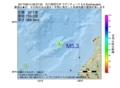 地震震源マップ:2017年06月14日 08時37分 石川県西方沖 M5.3