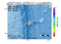 地震震源マップ:2017年06月15日 01時33分 八丈島東方沖 M3.5