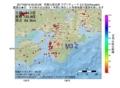 地震震源マップ:2017年06月16日 00時25分 和歌山県北部 M3.2