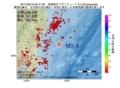 地震震源マップ:2017年06月16日 05時41分 茨城県沖 M3.4