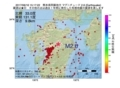地震震源マップ:2017年06月16日 15時17分 熊本県阿蘇地方 M2.6