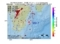地震震源マップ:2017年06月16日 22時39分 日向灘 M4.7