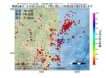 地震震源マップ:2017年06月17日 01時22分 茨城県北部 M2.7