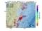地震震源マップ:2017年06月17日 02時19分 福島県沖 M3.1