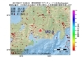 地震震源マップ:2017年06月17日 19時08分 愛知県西部 M2.9