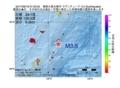 地震震源マップ:2017年06月18日 07時23分 奄美大島北東沖 M3.5
