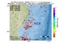 地震震源マップ:2017年06月18日 16時09分 宮城県沖 M2.8