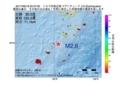 地震震源マップ:2017年06月18日 20時37分 トカラ列島近海 M2.6