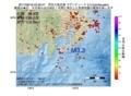 地震震源マップ:2017年06月18日 22時36分 伊豆大島近海 M3.3