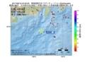 地震震源マップ:2017年06月19日 04時33分 東海道南方沖 M4.1
