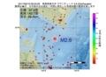 地震震源マップ:2017年06月19日 06時23分 青森県東方沖 M2.6