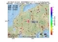 地震震源マップ:2017年06月19日 18時13分 岐阜県飛騨地方 M2.9