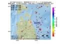 地震震源マップ:2017年06月19日 20時53分 青森県東方沖 M2.6
