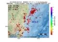 地震震源マップ:2017年06月20日 22時07分 茨城県沖 M3.0