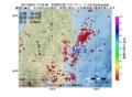 地震震源マップ:2017年06月21日 17時46分 茨城県北部 M2.9