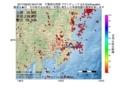 地震震源マップ:2017年06月22日 09時07分 千葉県北西部 M2.8