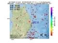 地震震源マップ:2017年06月22日 12時15分 岩手県沿岸北部 M2.6