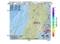 地震震源マップ:2017年06月22日 12時41分 秋田県沿岸南部 M2.5