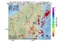 地震震源マップ:2017年06月22日 18時05分 栃木県南部 M2.7