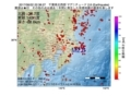 地震震源マップ:2017年06月22日 22時38分 千葉県北西部 M2.6