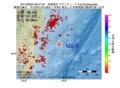 地震震源マップ:2017年06月23日 06時47分 茨城県沖 M2.6