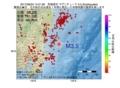 地震震源マップ:2017年06月23日 14時31分 茨城県沖 M3.5
