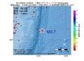 地震震源マップ:2017年06月23日 15時58分 三陸沖 M3.7
