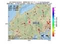 地震震源マップ:2017年06月23日 20時20分 長野県中部 M2.6