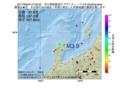 地震震源マップ:2017年06月24日 07時26分 石川県能登地方 M3.9