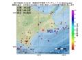 地震震源マップ:2017年06月25日 13時40分 釧路地方中南部 M3.4