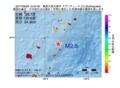 地震震源マップ:2017年06月26日 12時24分 奄美大島北東沖 M2.5