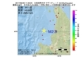 地震震源マップ:2017年06月26日 11時26分 北海道西方沖 M2.8