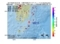 地震震源マップ:2017年06月26日 20時27分 大隅半島東方沖 M2.5