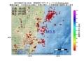 地震震源マップ:2017年06月27日 05時16分 茨城県沖 M3.0