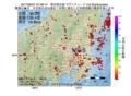 地震震源マップ:2017年06月27日 07時48分 埼玉県北部 M2.6