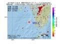 地震震源マップ:2017年06月27日 11時55分 薩摩半島西方沖 M3.3