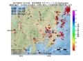 地震震源マップ:2017年06月27日 19時15分 埼玉県南部 M2.5