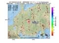 地震震源マップ:2017年06月28日 03時33分 長野県南部 M3.2