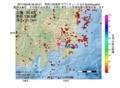 地震震源マップ:2017年06月28日 06時00分 神奈川県東部 M2.5