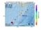 地震震源マップ:2017年06月28日 06時21分 種子島近海 M2.6