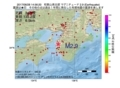 地震震源マップ:2017年06月28日 14時56分 和歌山県北部 M2.9