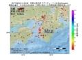 地震震源マップ:2017年06月28日 14時59分 和歌山県北部 M2.8