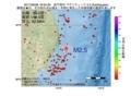 地震震源マップ:2017年06月28日 16時04分 岩手県沖 M2.5