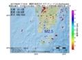 地震震源マップ:2017年06月28日 17時16分 薩摩半島西方沖 M2.5