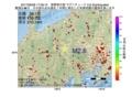 地震震源マップ:2017年06月28日 17時36分 長野県中部 M2.6