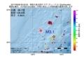 地震震源マップ:2017年06月28日 20時22分 奄美大島北西沖 M3.1
