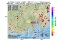 地震震源マップ:2017年06月28日 21時29分 山梨県中・西部 M2.8
